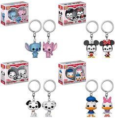New couples Pocket Pops on the way - Order link in bio - Funko Pop Toys, Funko Pop Vinyl, Stitch And Angel, Lilo And Stitch, Pop Vinyl Figures, Pop Figures Disney, Disney Pop, Walt Disney, Pop Figurine
