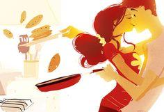I simply adore Pascal Campion's work. http://pascalcampion.blogspot.com/2012/04/pancakes.html
