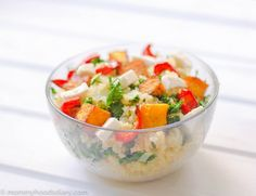 Insalata di quinoa e zucca