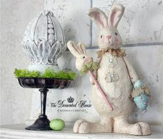 Easter Mantel Decorations: The  Decorated House