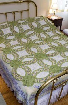 crochet pattern wedding ring square