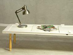 Manualidades y Artesanías   Mesa con puerta   Utilisima.com