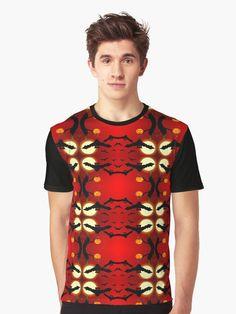 Bats pattern by Silvia Ganora #halloween #bats #moon #pattern #tshirt #t-shirt #tee #redbubble