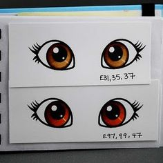 How to color eyes with copics