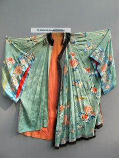 ancient chinese robes | ... Chinese Green Robe Phoenix Embroidery Tapestry Robes & Textiles photo