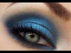 макияж в синих тонах - Поиск в Google