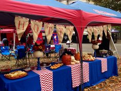 Ole Miss grove ❤️ Hotty Toddy! Tailgate Tent, Football Tailgate, Tailgate Food, Football Season, Clemson Football, Ole Miss Tailgating, Ole Miss Football, Tailgating Recipes, The Grove Ole Miss
