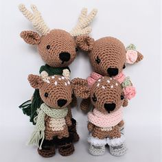 Note: This listing is for a crochet pattern only - it is not the finished dolls!