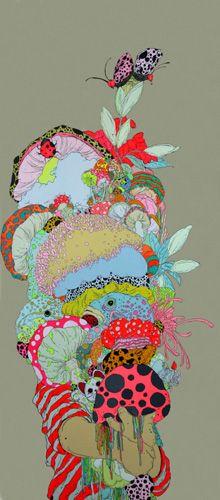 trippy awesome -Zhou Fan's artwork.