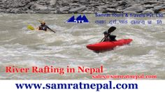 Samrat Nepal Photo of the Day.  White water rafting is a special venture in the river on an inflatable rubber boat.