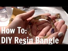 How to make epoxy resin bracelet with pink flower petals   Craft Susan Magazine