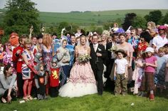 The 22 Craziest and Most Creative Wedding Photos Ever via Brit   Co