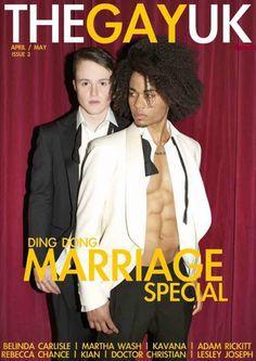Inside Issue 3 Exclusive Gay Marriage Special Shoot, Adam Rickitt, Kavana, Dr Christian, Martha Wash,
