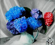 1000 id es sur le th me peinture d 39 hortensia sur pinterest for Carrelage qui explose