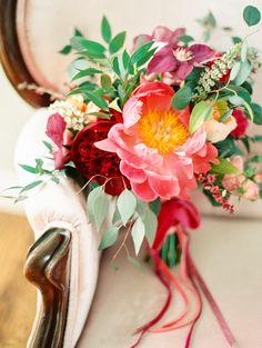 Blush Pink Orchard Wedding Inspiration   Wedding Sparrow