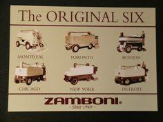 original six zamboni