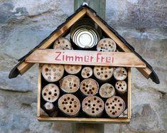 gro es insektenhotel selber bauen insektenhotel. Black Bedroom Furniture Sets. Home Design Ideas