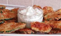 Πολύ όμορφα και πάρα πολύ νόστιμα τηγανόψωμα με φέτα - εξαιρετικά αφράτα Zucchini, Meat, Chicken, Vegetables, Food, Essen, Vegetable Recipes, Meals, Yemek