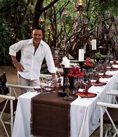 Brides Magazine: Destination Wedding Style: South Africa : Wedding Reception Idea Gallery