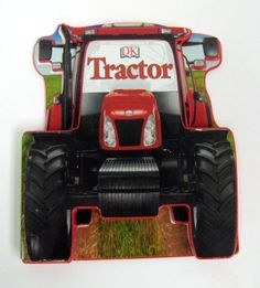 Red Tractor Shaped Board Book