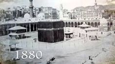 makkah  masjid al Haram history makkah masjid al Haram history This video was uploaded from an Android phone.1880