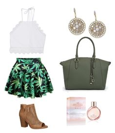 """""""Afternoon look"""" by jessica-l-black on Polyvore featuring Front Row Shop, Avenue, Hollister Co., FOSSIL and JustFab"""