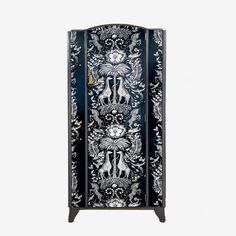 Kruger Wardrobe – Emma J Shipley Boutique Wallpaper, Yellow Interior, Vintage Wardrobe, Own Home, Monochrome, How To Draw Hands, Monochrome Painting