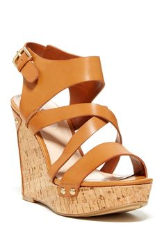 GUESS   Hylie Wedge Sandal   Nordstrom Rack