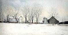 "Gary Akers - ""Winter's Grays"" by aurora"