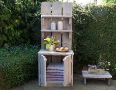 1000 images about voor buiten on pinterest potting station pallets and models - Deco massief buiten ...
