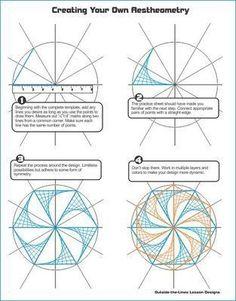 Math Art Art Activities Outside Activities Geometric Art Elementary Art Math Lessons Line Art Projects Math Projects Steam Art String Art Diy, Arte Linear, Classe D'art, Steam Art, Inkscape Tutorials, Bordado Floral, 5th Grade Art, String Art Patterns, Math Art