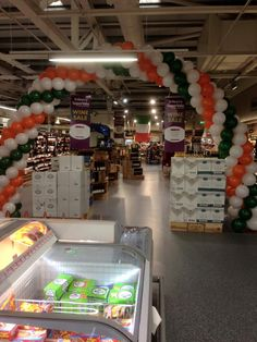 Massive Balloon Arch For the Inside of #Supervalu Premises #Waterford