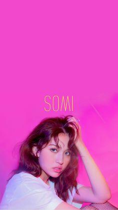 Jeon Somi, Produce 101, South Korean Girls, Korean Girl Groups, Birthday Wallpaper, Blackpink And Bts, Wallpaper S, Wallpaper Lockscreen, Music Albums