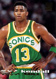 Kendall Gill rocked the Flat Top throughout his NBA career, and why wouldn't he? Get paid to write about your passion for #Sports - Start your free blog today at http://www.SportsBlog.com