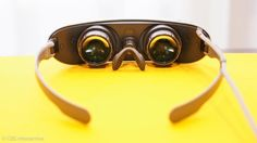 A new way to wear virtual reality, lightweight and sunglass-style. Hands-on impressions.