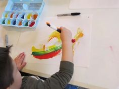 Creating art with lines by Teach Preschool