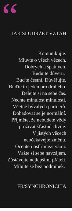 synchronicity, synchronicita, , naplněný život, osobní rozvoj. láska Words Quotes, Love Quotes, Quotes About Love And Relationships, True Facts, Love Your Life, Positive Vibes, Slogan, Life Lessons, Quotations