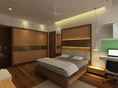 latest interior design for bedroom