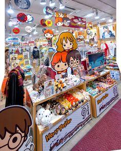 Kawaii Harry Potter at Kiddyland Harajuku in Tokyo this week.