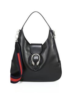 fb5c87396616 GUCCI Dionysus Leather Hobo Bag.  gucci  bags  shoulder bags  hand bags