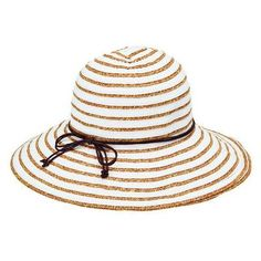 Shop for Women's San Diego Hat Company Ribbon Paperbraid Stripe Sun Hat White. Get free delivery On EVERYTHING* Overstock - Your Online Accessories Outlet Store! Happy Hour, Brim Hat, Summer Hats, Black And Navy, Hat Sizes, Sun Hats, Color Pop, Ribbon, Unisex