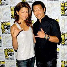 Grace Park & Daniel Dae Kim - Comic Con 2013