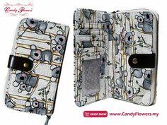 Koala design long purse