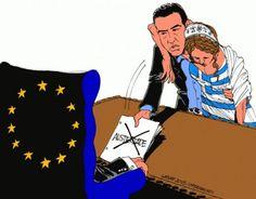 Το συγκλονιστικό σκίτσο για τη διαπραγμάτευση Τσίπρα που έγινε viral [εικόνα] | iefimerida.gr