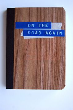 Travel Journal | On the Road Again notebook by Campfire Chic
