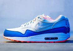 air max 1 blue orange essential 5 Nike Air Max 1 Essential Knicks   Available