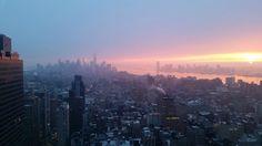 Manhattan and New Jersey