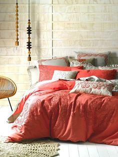 feminine bedroom + bedding   Linen House
