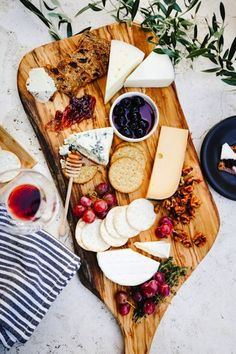 The prettiest cheese plate.