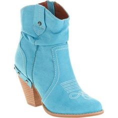Momo Women's Michelle Stacked Heel, Size: 6, Blue